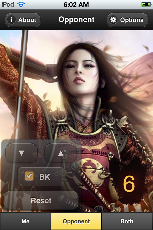 Screenshot L5R Honor Counter